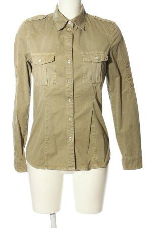 Mason's Camicia a maniche lunghe marrone stile casual