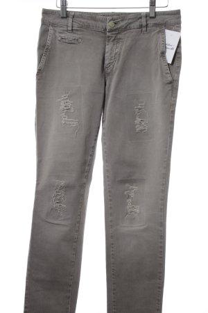 Mason's Slim Jeans grau Destroy-Optik