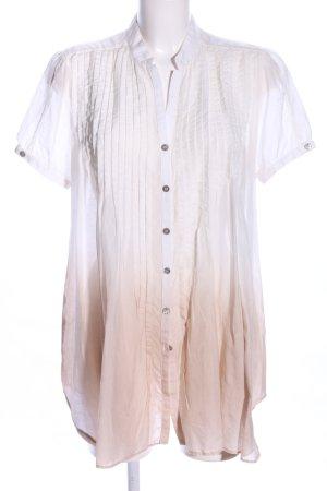 Mason's Tunikabluse weiß-nude Farbverlauf Casual-Look
