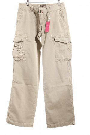 Masons Cargohose khaki Logo-Applikation