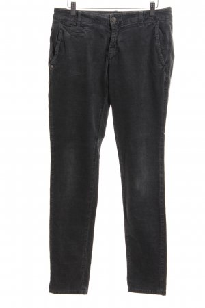 Masons Cordhose silberfarben Casual-Look