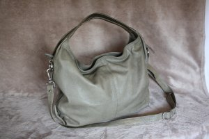 Masquenada Borsa sacco marrone-grigio Pelle
