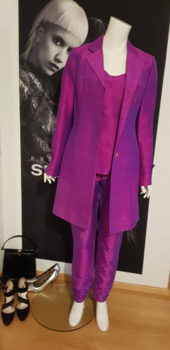 Unikat Einzelstück Jupe en soie violet