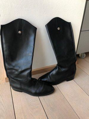 Massimo Dutti Botas de equitación negro