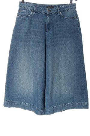 Massimo Dutti Jeans 3/4 bleu style décontracté