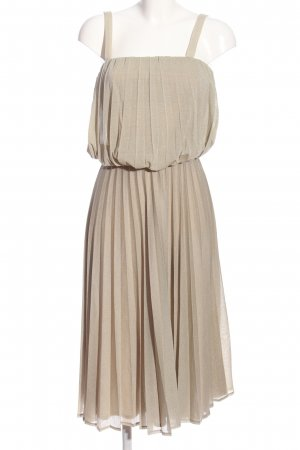 Massimo Dutti A-Linien Kleid hellgrau Elegant