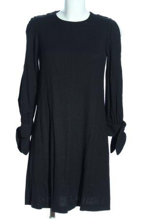 Massimo Dutti A-Linien Kleid schwarz Casual-Look