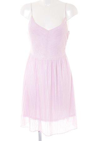 Massimo Dutti A-Linien Kleid rosa Elegant