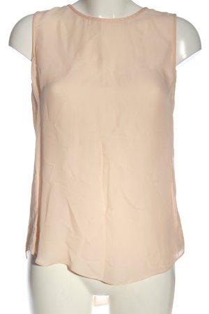 Massimo Dutti ärmellose Bluse nude Casual-Look