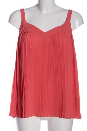 Massimo Dutti ärmellose Bluse pink Casual-Look