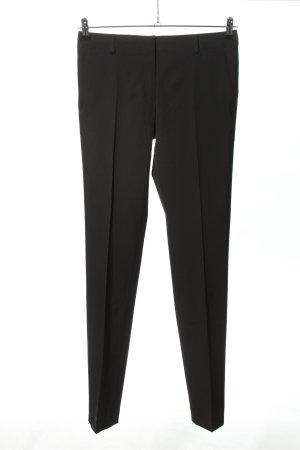 Massimo Dutti Spodnie garniturowe czarny W stylu casual