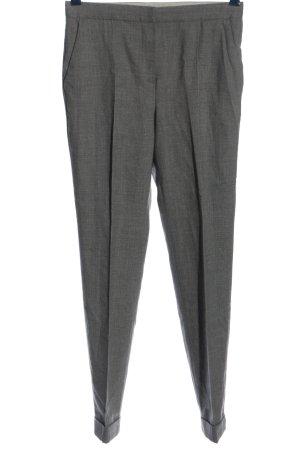 Massimo Dutti Spodnie garniturowe jasnoszary Melanżowy W stylu casual