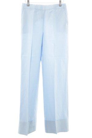 Massimo Dutti Anzughose blau Business-Look