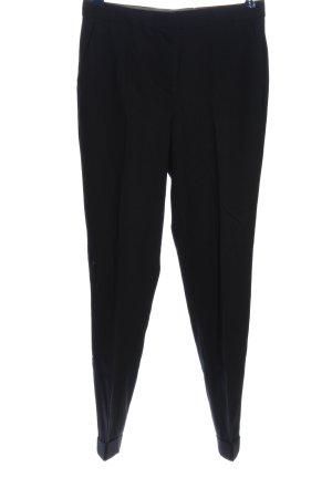Massimo Dutti Suit Trouser black business style