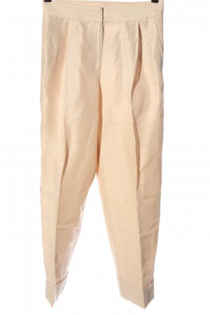 Massimo Dutti Baggy Pants creme Casual-Look