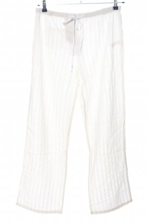 Massimo Dutti Baggy Pants white casual look