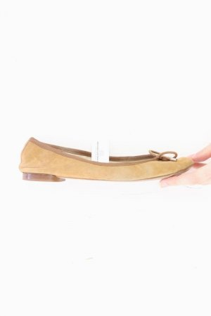 Massimo Dutti Ballerinas Größe 37 braun