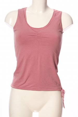 Massimo Dutti Basic Top pink Casual-Look