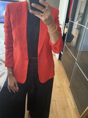 Massimo Dutti Blauer 42 XL orange rot