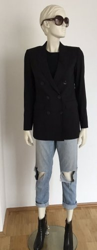 Massimo Dutti Blazer de lana negro Lana
