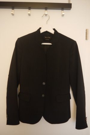 Massimo Dutti Blazer chic edel Business schwarz Gr. 40 top Zustand