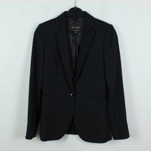 Massimo Dutti Blazer de esmoquin negro