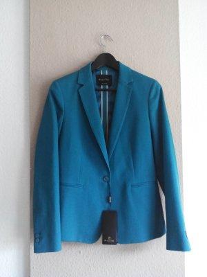 Massimo Dutti Blazer in türkis aus 97% Baumwolle, Größe 40 neu