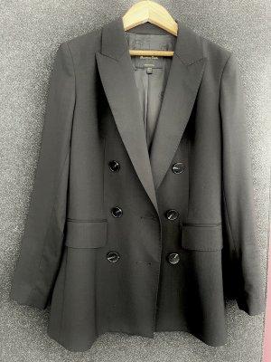 Massimo Dutti Klassischer Blazer negro