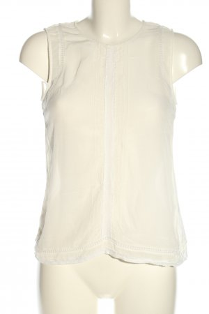 Massimo Dutti Blusentop weiß Casual-Look