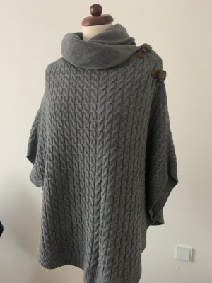 Massimo Dutti Knitted Poncho multicolored