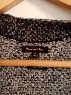 Massimo Dutti Crochet Cardigan multicolored mixture fibre