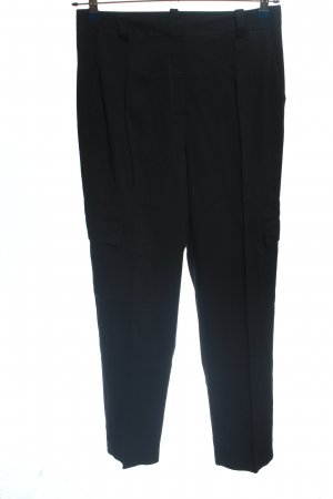 Massimo Dutti Pantalón de camuflaje negro look casual