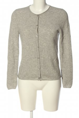 Massimo Dutti Cashmere Jumper light grey flecked casual look