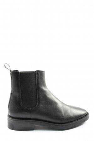 Massimo Dutti Chelsea Boots schwarz Casual-Look
