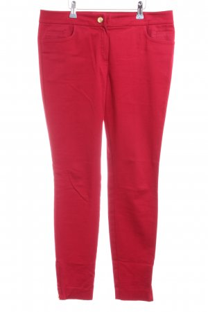 Massimo Dutti Chinohose rot Casual-Look
