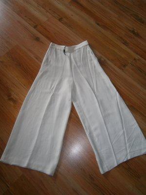Massimo Dutti Marlene Trousers natural white