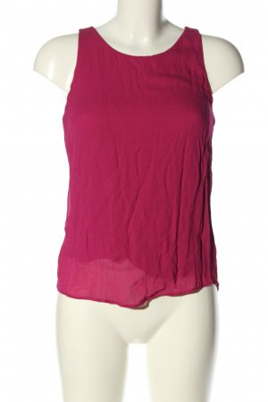 Massimo Dutti Top cut out rosa look casual