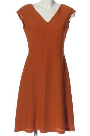 Massimo Dutti Empire Dress light orange casual look