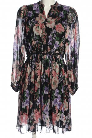 Massimo Dutti Empire Dress flower pattern casual look