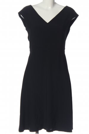 Massimo Dutti Empire Dress black business style