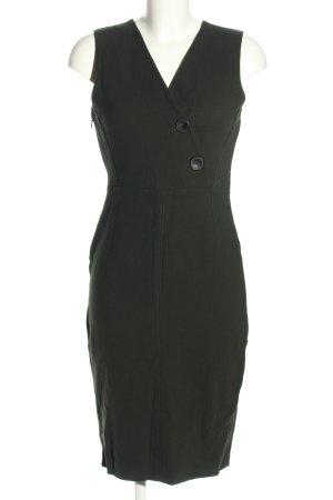 Massimo Dutti Manteljurk zwart zakelijke stijl