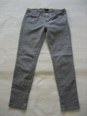 massimo dutti grau jeans gr. s 36 top