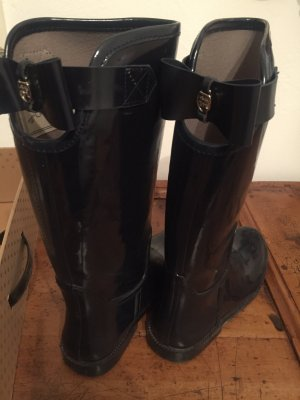 Massimo Dutti Wellies dark blue