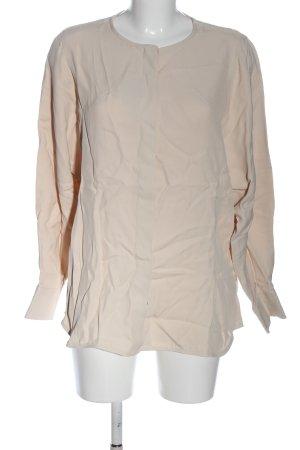 Massimo Dutti Blusa-camisa blanco puro look casual
