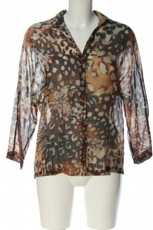 Massimo Dutti Shirt Blouse allover print casual look