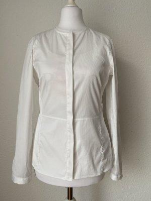 Massimo Dutti Hemd Bluse Shirt Gr 38 weiß