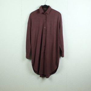 Massimo Dutti Shirtwaist dress purple viscose