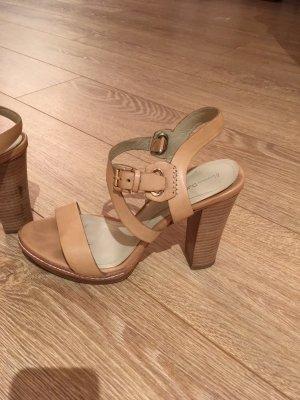 Massimo Dutti Platform High-Heeled Sandal multicolored