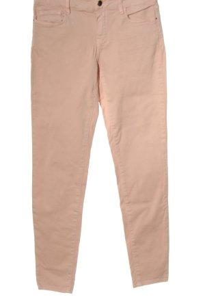 Massimo Dutti Jeans a vita alta rosa stile casual