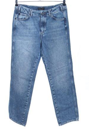 Massimo Dutti High Waist Jeans blau Casual-Look